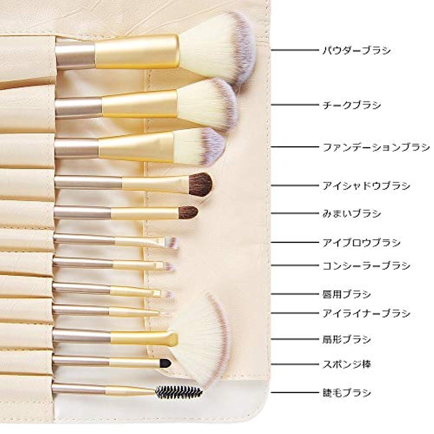 Acavado メイクブラシ 12本セット 人気化粧筆 超柔らかい 高品質PUレザー化粧ポーチ付き メイクデビュー Acavado