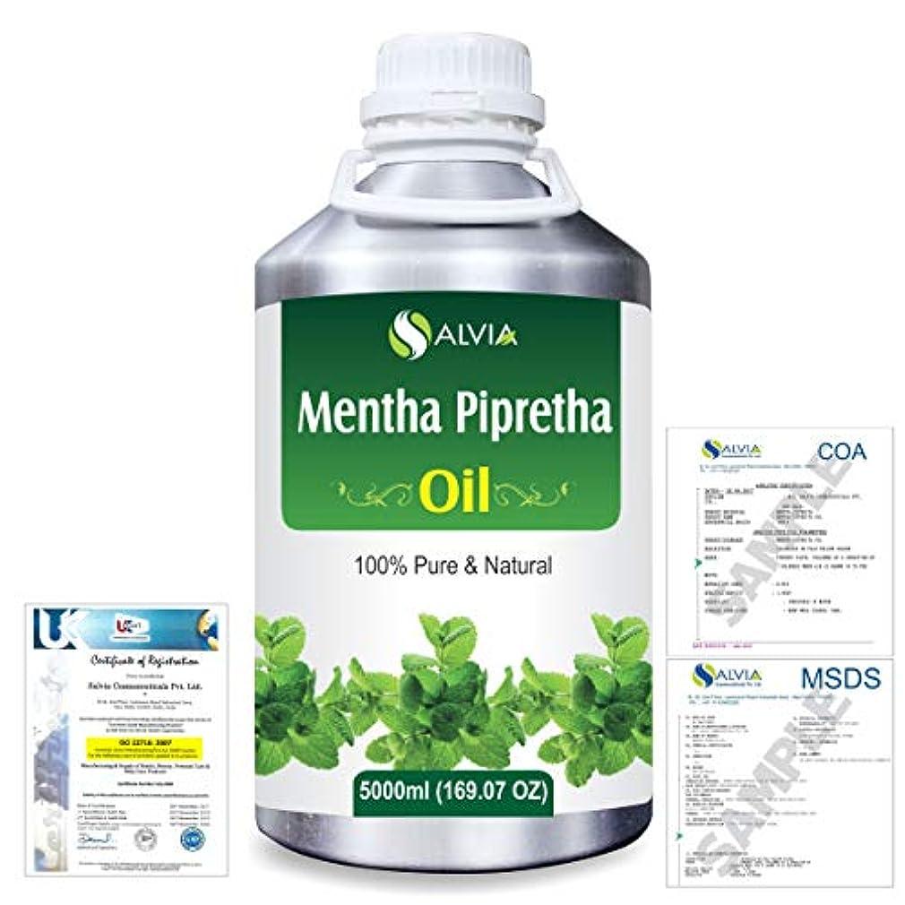独立有毒な変なMentha Pipreta 100% Natural Pure Essential Oil 5000ml/169fl.oz.