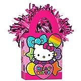 (Hello Kitty Rainbow) - Amscan Hello Kitty Rainbow Mini Tote Balloon Weight Party Decor 12 Ct.
