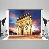 ケイトBackdrop写真背景円弧のTriumph 8x 8ftパリ景色StudioプロップブースShooting Backdropパーティー
