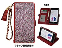 「kaupili」 ASUS ZenFone 3 ZE552KL(5.5 インチ) ケース 鏡/ミラー付き カード収納 スタンド機能 手帳型 お財布機能付き 化粧鏡付き