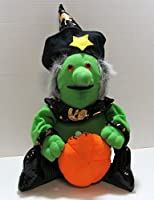 Plush Halloween Witch With Pumpkin – Wart &すべて