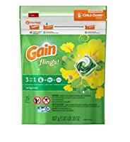 Fresh 。Gain Flings Laundry Detergent original35.0 EA (3パック)