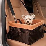 wopet  愛犬のための車助手席用ドライブボックス ペットソフト ドライブボックス 中型ペット用 ペット キャリーバッグ ペットドライブボックス 折畳み ペット用 バスケット ブースターボックス