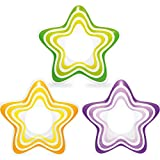 Intex Inflatable Starリング、3色、イエロー、パープル、グリーン、29