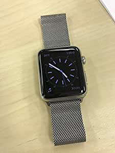Apple Watch 本体 2015 アップル スマート ウォッチ Smart Watch 腕時計 (42mmステンレススチールケース ミラネーゼループ) [並行輸入品]
