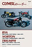 Clymer Vintage British Street Bikes: BSA, Norton, Triumph- Repair Manual (Clymer Manuals: Motorcycle Repair)