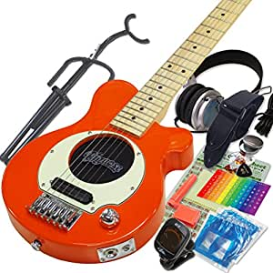 Pignose ピグノーズ ギター PGG-200 OR オレンジ アンプ内蔵ミニギター14点セット [98765]【検品後発送で安心】