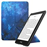 MoKo Case Replacement with Kindle Paperwhite (10th Generation, 2018 Release), Standing Origami Slim Shell Cover with Auto Wake/Sleep Fits Kindle Paperwhite E-reader - Blue Sky Star