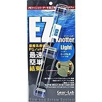 イージーノッター ライト ブルー PEラインFGノット結束 使い方DVD付 ギアラボ 釣り具