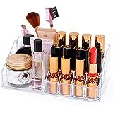 FORSONT 口紅ボックス 化粧品収納ボックス 口紅ホルダー 透明 香水/化粧筆/口紅収納