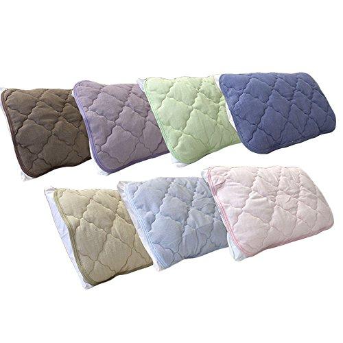 選べる7色! 吸湿性に優れたコットンパイル 【シンカーパイルピローパッド】 枕パッド:43×63cm ふわふわ綿パイル !洗えるのでいつも清潔!