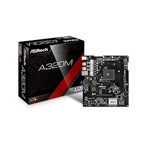 新製品 ASRock A320M MicroATXマザーボード AMD A320チップ搭載 Ryzen対応