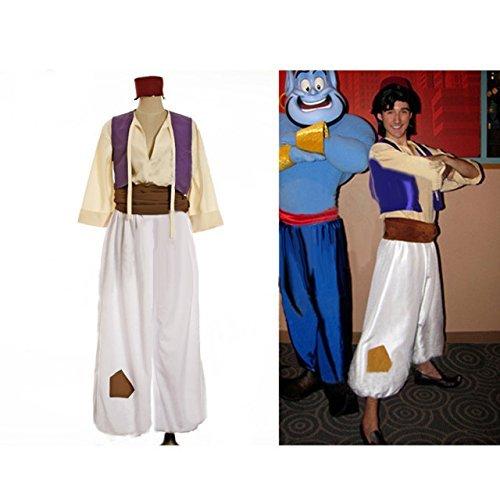『【HALLE】コスプレ衣装 コスチューム アラジンと魔法のランプ 風 アラジン 風 男性Mサイズ』のトップ画像