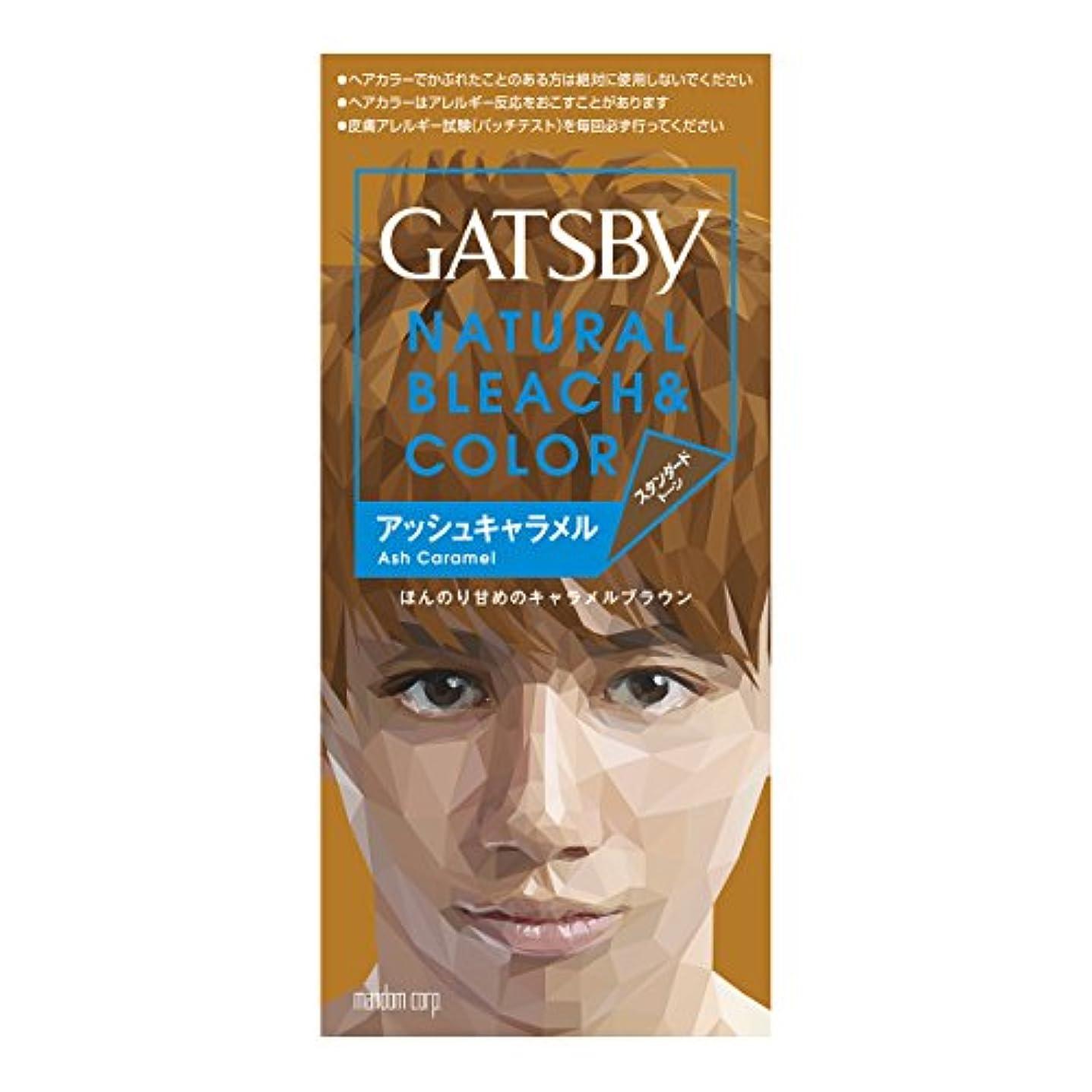 雄弁記憶支払うギャツビー ナチュラルブリーチカラー アッシュキャラメル【HTRC5.1】