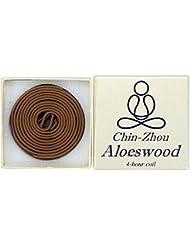12ピース4-hour chin-zhou Aloeswoodコイル – 100 % Natural – f023t