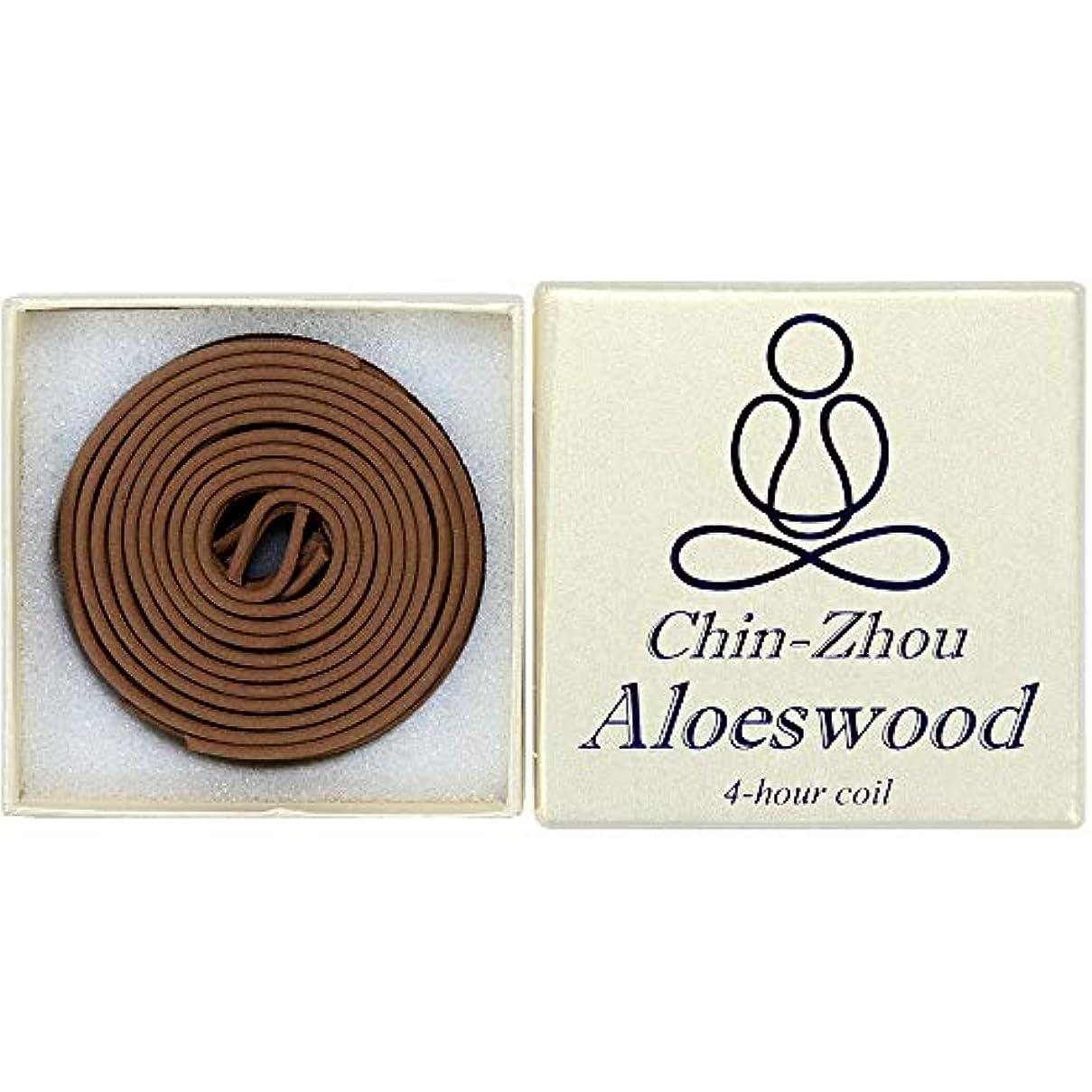 そこから同種の隣接12ピース4-hour chin-zhou Aloeswoodコイル – 100 % Natural – f023t