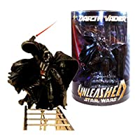 "Hasbro Year 2005 Episode III ""Revenge of the Sith"" Exclusive Unleashed Series 7 Inch Tall Action Figure - DARTH VADER"