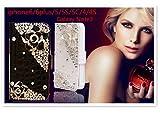 【JABIT】iPhone7 Plus/iPhone7/iPhone6 Plus/6s Plus/iPhone6/6s/iPhone5/5s/SE/ 革 ゴージャス 花の飾り キラキラ スワロフスキー おしゃれ シリコン デコ 手帳型 全2色対応人気ケース カバー アイフォン