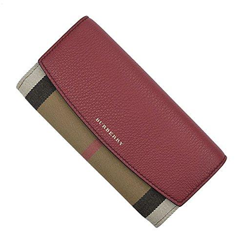 (バーバリー)BURBERRY レディース二つ折長財布(小銭入れ付き) PORTER / 39753271 レッド [並行輸入品]