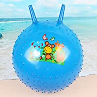 YChoice 可愛い赤ちゃんのおもちゃ ギフト 子供の遊びボール ベビーカートゥーン クローラーボール 空気注入式ソーンボール 膨らませて遊ぶおもちゃ