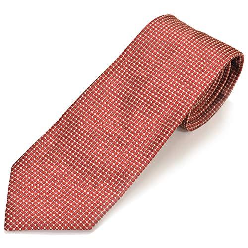 GIORGIO ARMANI ジョルジオ アルマーニ ネクタイ メンズ 高級 シルク100% 結婚式 ブランド シルク イタリア ビジネス ナロー 柄 ストライプ 無地 披露宴 2次会 フォーマル カジュアル ねくたい 並行輸入品 プレゼント ギフト RED