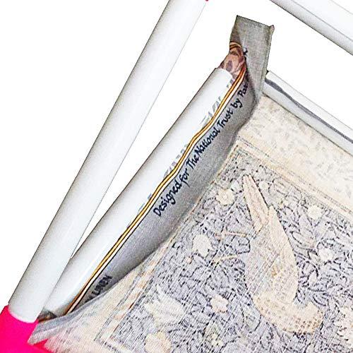 Izumi-Japan(イズミジャパン)『四角刺しゅう枠スタンドタイプ』