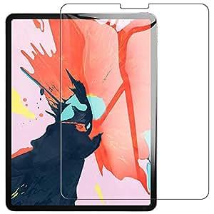 【改善版】ipad pro 11 ガラスフィルム 【2018新型】11インチ ipad pro 11 保護フィルム 強化ガラス 防指紋/防爆裂/スクラッチ防止 (光沢タイプ)