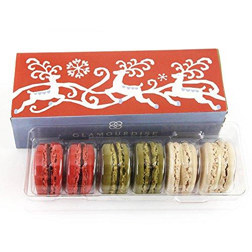 (グラモウディーズ) クリスマスマカロン 詰め合わせ 6個入り