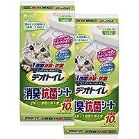 デオトイレ 1週間消臭・抗菌デオトイレ 取りかえ専用 消臭・抗菌シート 10枚×2袋