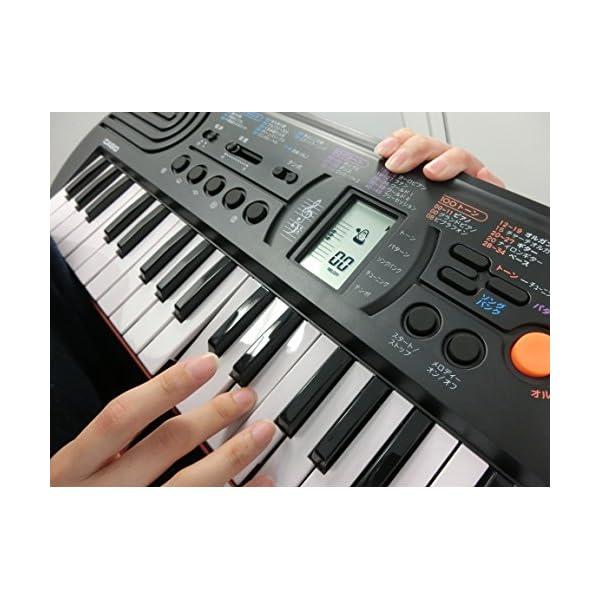 カシオ 電子ミニキーボード 44ミニ鍵盤 SA...の紹介画像5