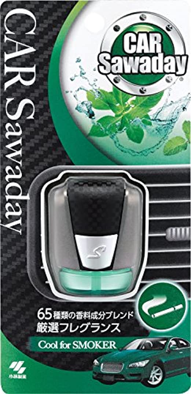 フェリーフェロー諸島管理カーサワデー 車用消臭芳香剤 メタリックカーボン調容器 クリップタイプ クールハーブミントの香り 3.5ml