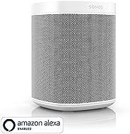 Sonos One - Smart Speaker with Alexa voice control built-In (White, Version 1)