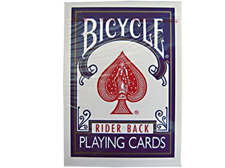 バイスクル/BICYCLE トランプ/カード ポーカーサイズ青