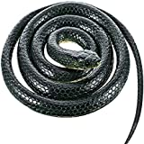 [Axe Sickle]Axe Sickle AS Blue Black Rubber Mamba Snake Toy 52 Inch Long! LMS-XJS-167111148 [並行輸入品]