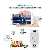 Elecrow iPhone USBメモリ 32GB フラッシュドライブ iPhone S/ iPhone 6s /iPhone 6 /iPad 対応