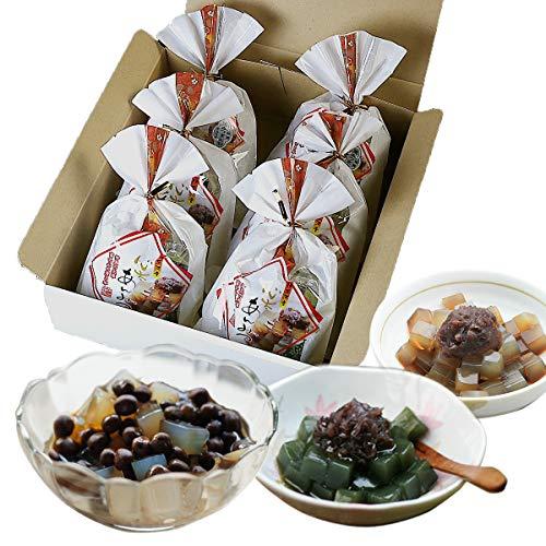 伊豆河童 豆てん あんみつ 6個セット 箱入り 和スイーツ 餡蜜 ギフト 北海道産 赤えんどう豆使用