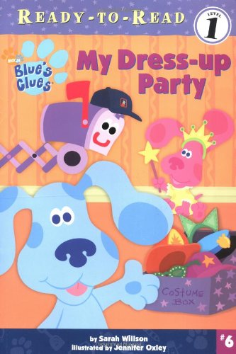 My Dress-Up Party (Blue's Clues Ready-to-Read Level 1)の詳細を見る