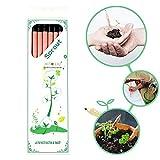 芽吹きペンシル - 8本の芽吹きと育つ鉛筆のセット:芽吹く鉛筆の植物 - 植物に成長できる鉛筆