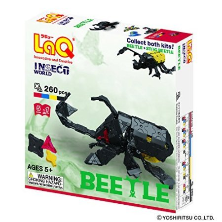 LaQ Insect World Beetleモデル構築キット