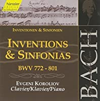 Inventions & Sinfonias by JOHANN SEBASTIAN BACH (2000-07-25)