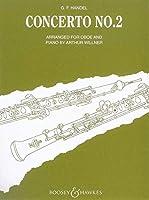 ヘンデル : オーボエ協奏曲 第二番 (オーボエ、ピアノ) ブージー&ホークス出版