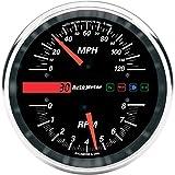 オートメーター Autometer スピード/タコメーター ドロップイン 120MPH/8000rpm 2210-0095 19466