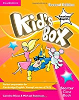 Kid's Box American English Starter Class Book with CD-ROM (Kids Box)