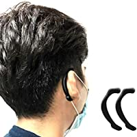 Fallve シリコンイヤーフック マスク拡張フック 耳が痛くない 補助道具 再利用可能 マスク用フックベルト クリア イヤーフックアジャスター マスクアクセサリー 大人 子供用