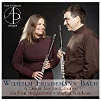 Bach, W.F.: Duos for Two Flute