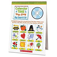 Scholastic Pre K-1 Calendar Sing-A-Long Set Education Printed Book (SHS439694957) [並行輸入品]