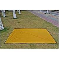 FenBuGu-JP 興味深い 屋外用(オレンジ)多機能防水オックスフォードクロスマットピクニックブランケットキャンプ用カーペットテントマット