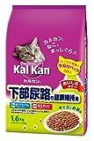 カルカン ドライ 成猫用 下部尿路の健康維持用 まぐろと野菜味 1.6kg [キャットフード]