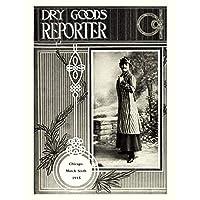 Magazine Cover Dry Goods Reporter Advertiser USA Art Canvas Print アメリカ合衆国